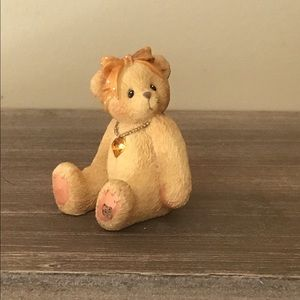 Collector bear from Cherished Teddy Collection